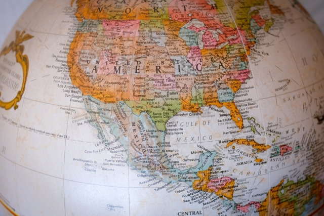 アメリカ大陸